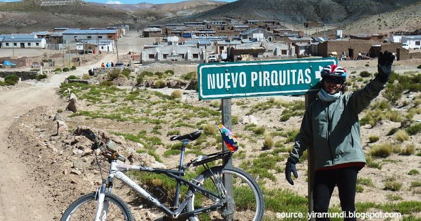 Mina Pirquitas Argentina - Daftar Kota dengan Letak Tertinggi di Dunia