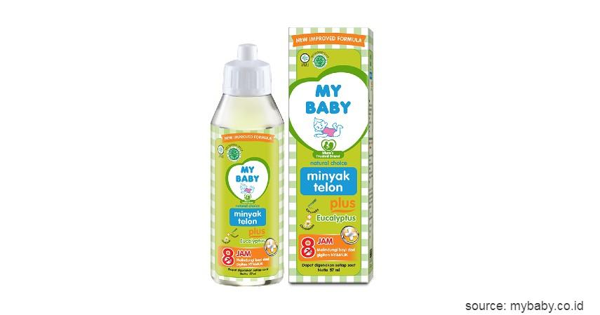 Minyak Telon My Baby - 10 Merek Minyak Telon Terbaik untuk Bayi