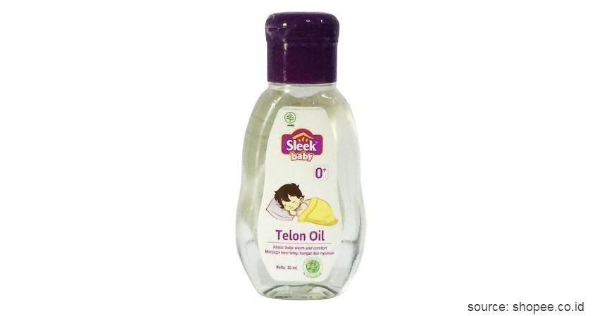 Minyak Telon Sleek Baby Telon Oil - 10 Merek Minyak Telon Terbaik untuk Bayi