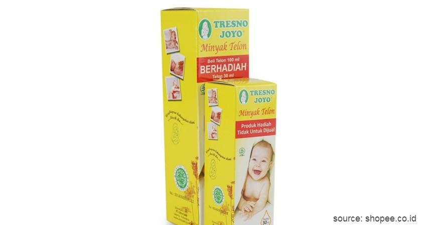 Minyak Telon Tresno joyo - 10 Merek Minyak Telon Terbaik untuk Bayi