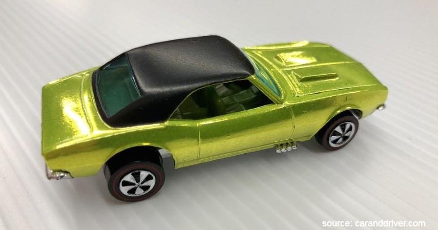 Over Chrome Camaro 1968 - 10 Hot Wheels Termahal di Dunia