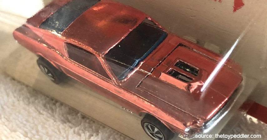 Over Chrome Mustang 1968 - 10 Hot Wheels Termahal di Dunia