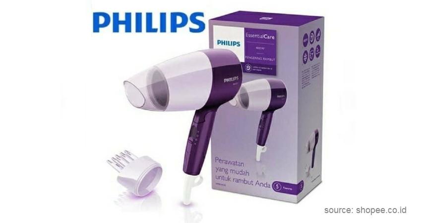 Philips Essential Care Dryer HP8126 - 7 Rekomendasi Hair Dryer Terbaik dan Harga Murah 2020