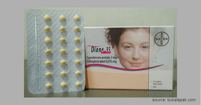Pil KB Diane - 8 Merek Pil KB yang Aman dan Minim Efek Samping