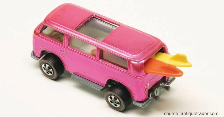 Pink Rear Loading Beach Bomb 1969 - 10 Hot Wheels Termahal di Dunia