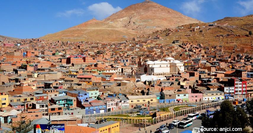 Potosi Bolivia - Daftar Kota dengan Letak Tertinggi di Dunia