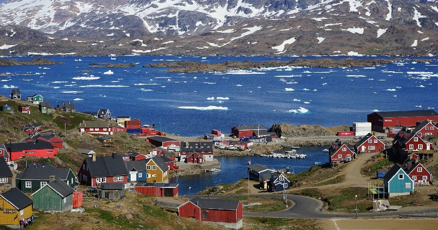 Pulau Greenland - 10 Daftar Pulau Terbesar di Dunia