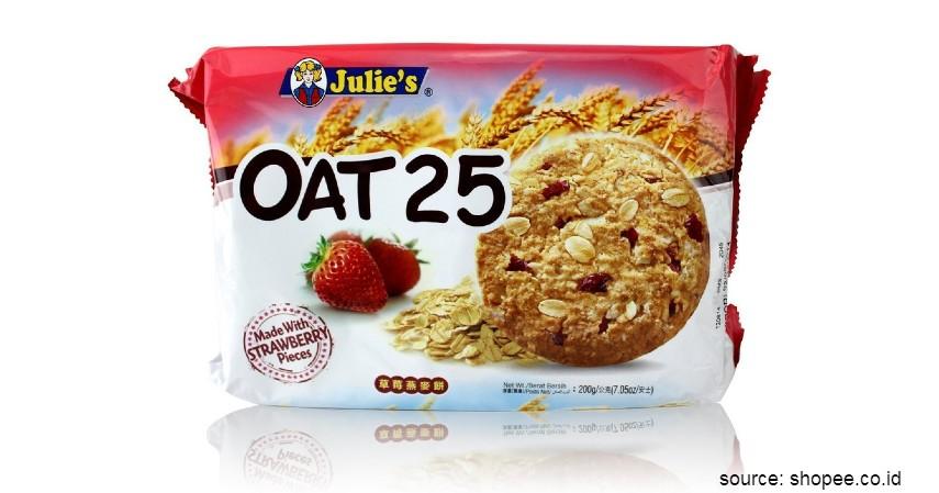 Rekomendasi Biskuit Terbaik untuk Diet - Julies Oat 25