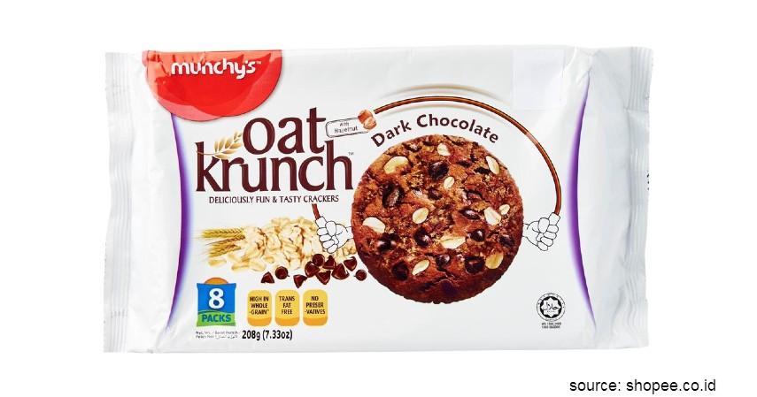 Rekomendasi Biskuit Terbaik untuk Diet - Munchys Oat Krunch