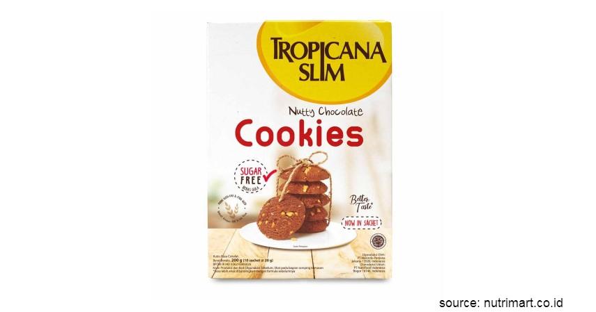 Rekomendasi Biskuit Terbaik untuk Diet - Tropicana Slim Sugar Free Cookies