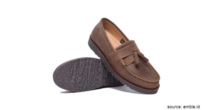 Rekomendasi Merek Sepatu Kulit Pria Lokal Terbaik - Amble Footwear