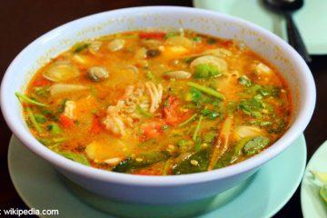 Resep Tom Yam ala Rumahan - Resep Tom Yam Seafood khas Thailand