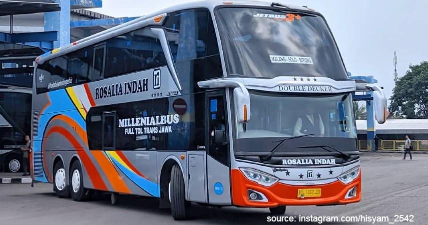 10 Daftar Bus Sleeper Seat Di Indonesia Mewah Nyaman Dan Anti Pegal
