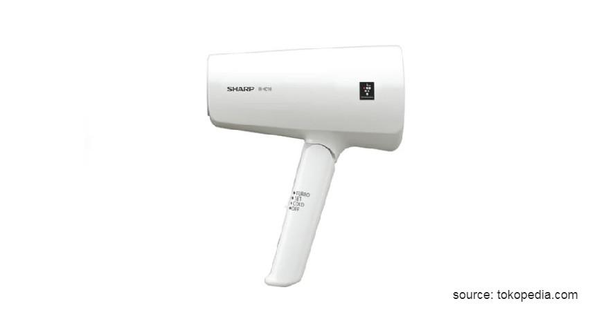 Sharp Hair Dryer with Plasmacluster - 7 Rekomendasi Hair Dryer Terbaik dan Harga Murah 2020