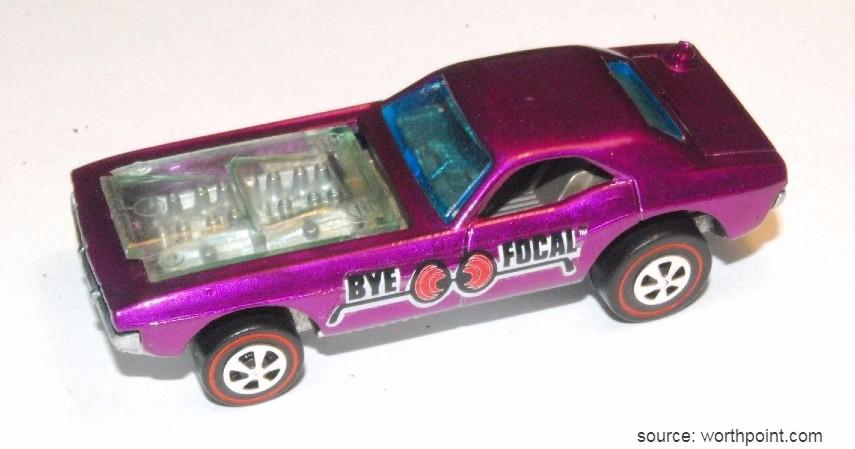Spectraflame Purple Bye Focal 1971 - 10 Hot Wheels Termahal di Dunia