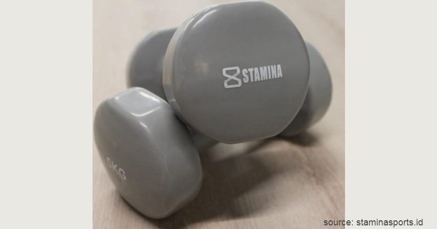 Stamina Sports Ultimate Dumbbell - 7 Dumbbell Barbell Fitness Terbaik untuk Pemula Olahraga di Rumah