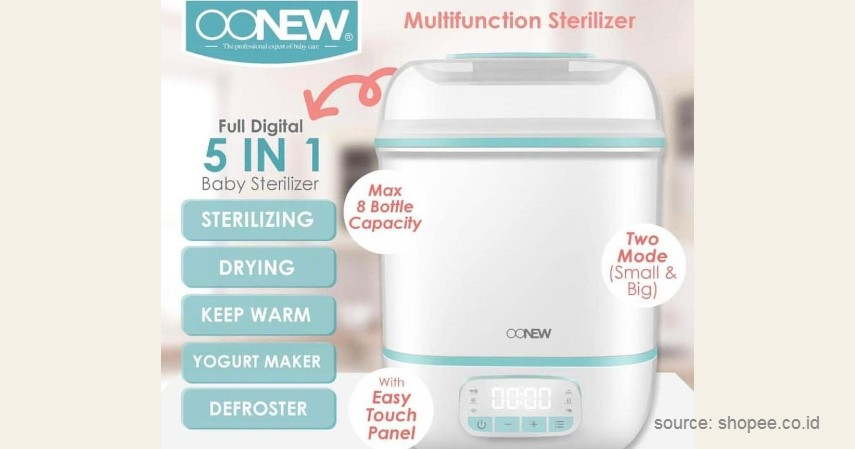 Sterilizer - 7 Perlengkapan untuk MPASI Ini Wajib Mama Miliki!