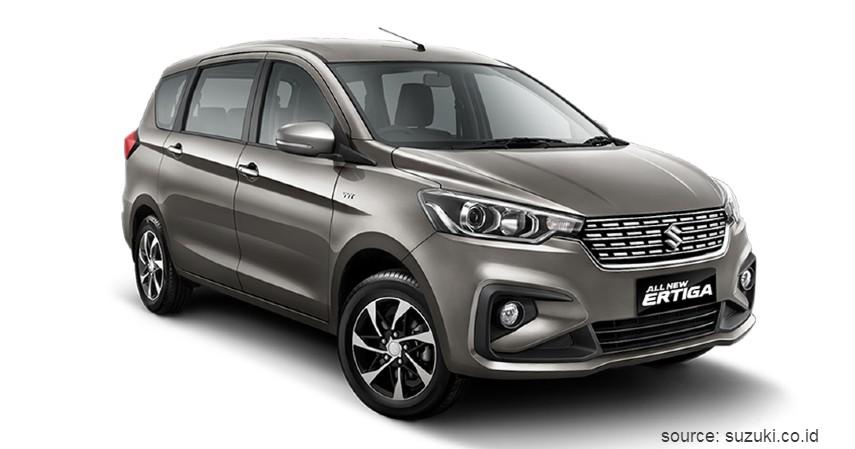 Suzuki Ertiga - Daftar Merk Mobil Paling Laris di Indonesia 2020