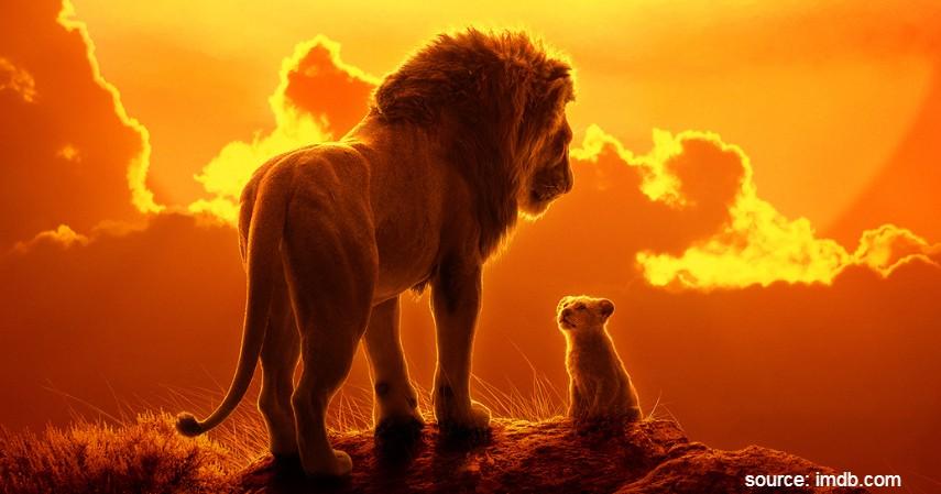 The Lion King Live Action 2019 - 10 Film Kartun Terbaik untuk Anak