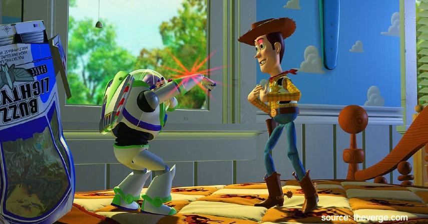 Toy Story 1995 - 10 Film Kartun Terbaik untuk Anak