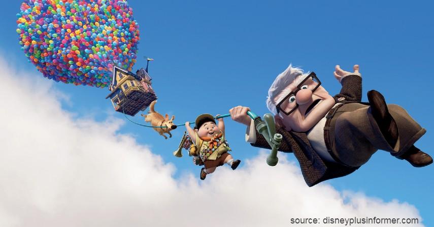 Up 2009 - 10 Film Kartun Terbaik untuk Anak