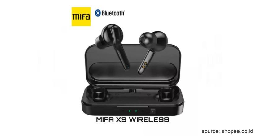 Xiaomi MiFa X3 - 8 Merek Earphone Bluetooth Terbaik Sebagai Peneman Mobilitas
