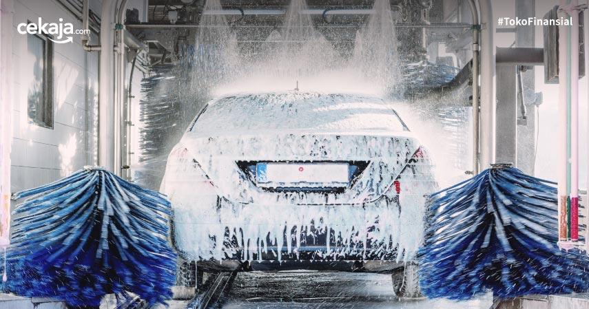 Keuntungan Cuci Mobil dengan Robotic Carwash, Praktis dan Efisien!