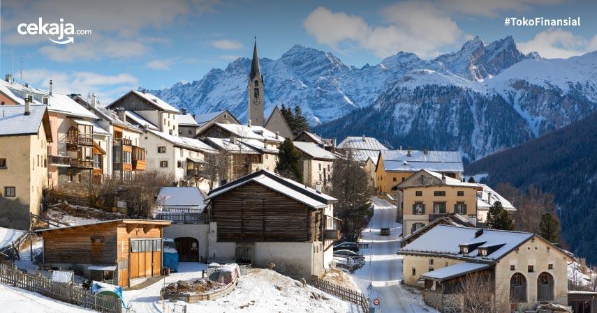 11 Destinasi Liburan Musim Dingin Terbaik di Dunia, Wajib Masuk ke Bucket List!