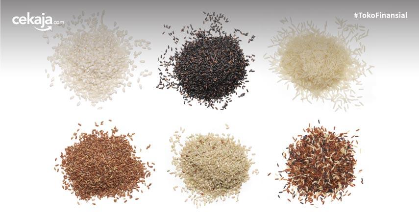 4 Jenis Nasi Beda Warna Beda Gizi, Cek Yuk!