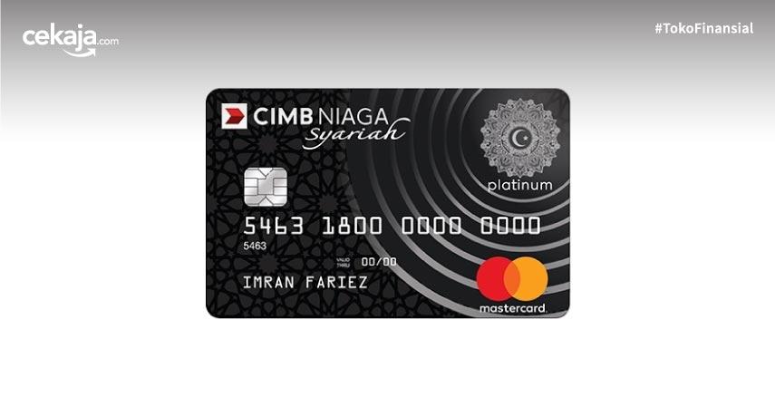 Cara Nikmati Program Cashback Rp600 Ribu Cimb Niaga Mastercard Syariah Platinum
