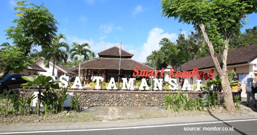 Desa Taman Sari - 15 Desa Terbaik di Indonesia, Keindahannya Cocok Jadi Tujuan Wisata.jpg
