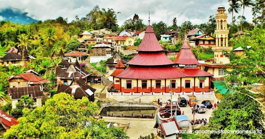 Desa Pariangan - 15 Desa Terbaik di Indonesia, Keindahannya Cocok Jadi Tujuan Wisata.jpg