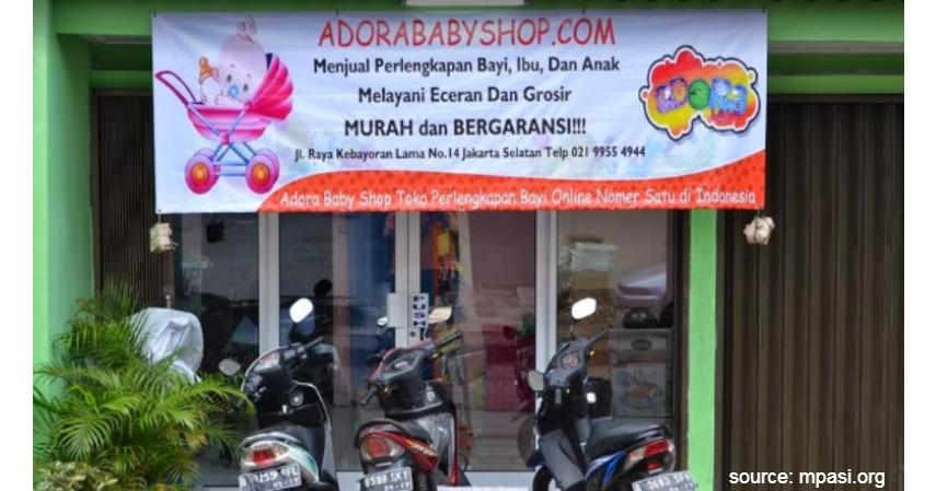 Adora Baby Shop - 7 Rekomendasi Toko Perlengkapan Bayi