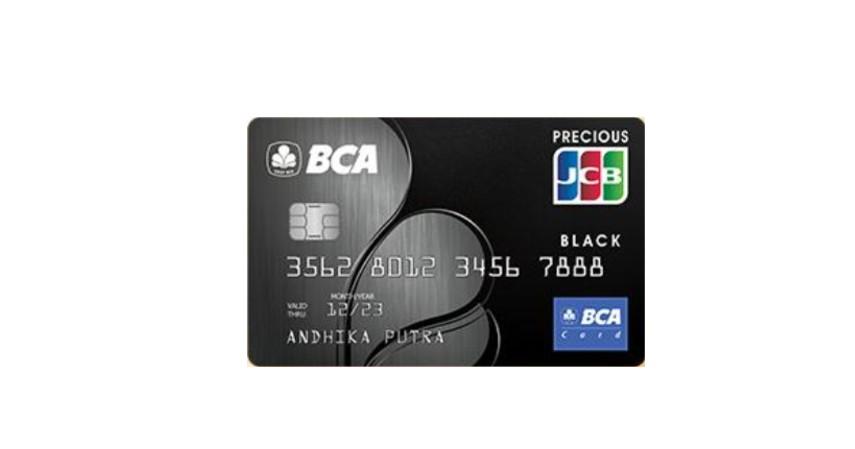 BCA JCB Black - 5 Daftar Kartu Kredit BCA untuk Liburan
