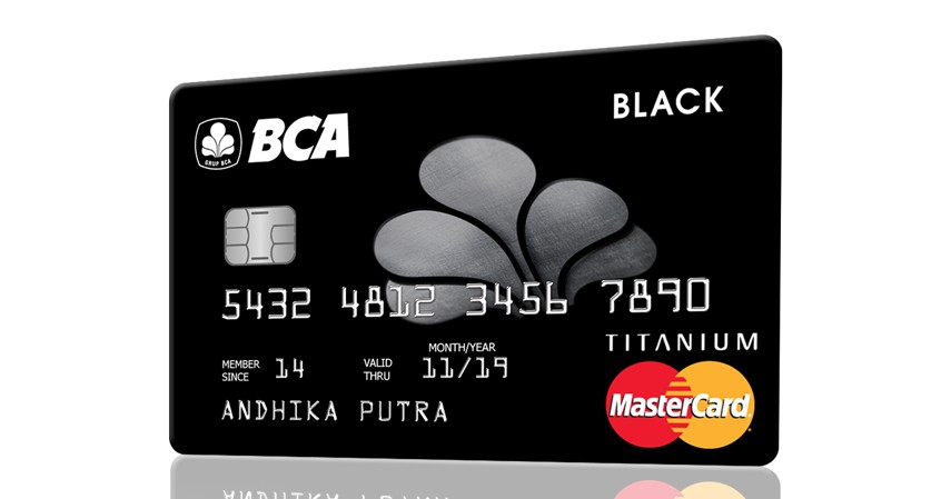 BCA MasterCard Black - 5 Daftar Kartu Kredit BCA untuk Liburan