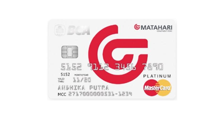 BCA MasterCard Matahari - 5 Daftar Kartu Kredit BCA untuk Liburan