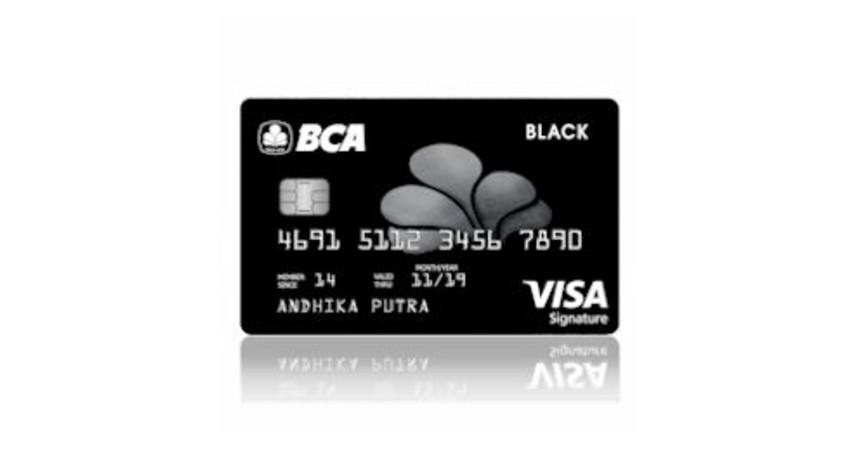 BCA VISA Black Signature - 5 Daftar Kartu Kredit BCA untuk Liburan