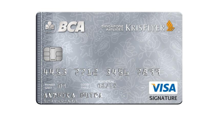 BCA Singapore Airlines KrisFlyer VISA Signature Infinite PPS Club Infinite - 5 Daftar Kartu Kredit BCA untuk Liburan