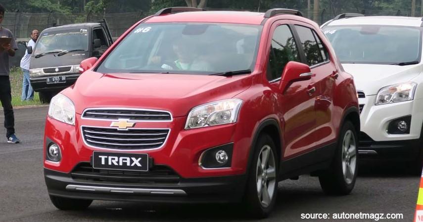 Chevrolet Trax 1.4 LTZ AT - 7 Daftar Mobil Sunroof Murah di Bawah Rp500 Juta