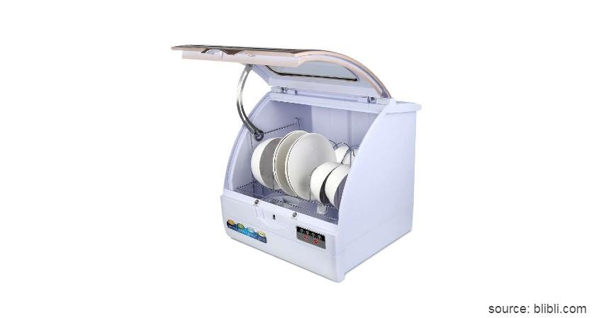 Colcom Portable Dishwasher - 7 Merk Mesin Pencuci Piring Terbaik Harga di Bawah Rp10 Juta