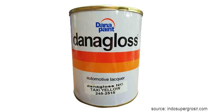Danapaint Danagloss - 11 Merk Cat Mobil Terbaik dengan Harga Terjangkau