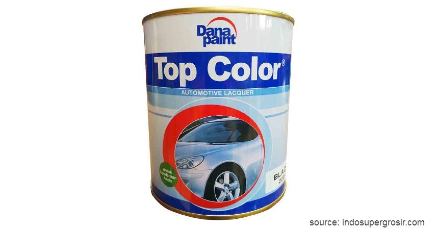Danapaint Top Color - 11 Merk Cat Mobil Terbaik dengan Harga Terjangkau