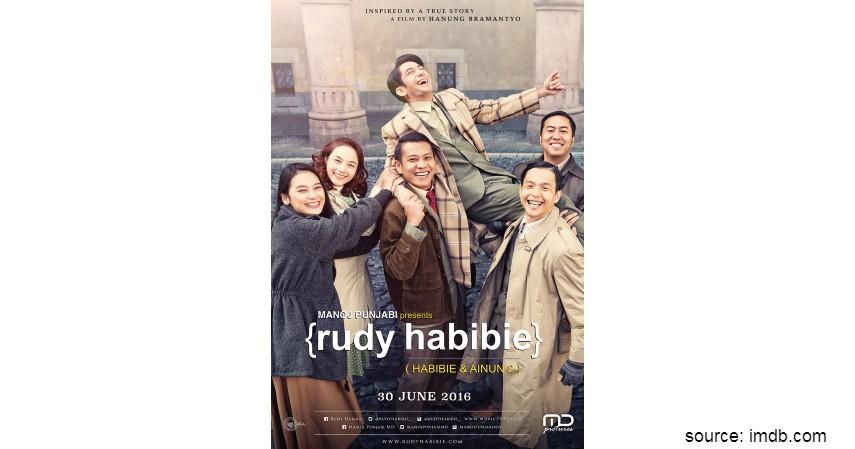 Film tentang Pahlawan Indonesia - Rudy Habibie Habibie Ainun 2