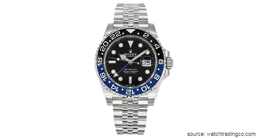 GMT-Master II - 6 Jenis Jam Tangan Rolex dengan Keunggulannya yang Berbeda-beda