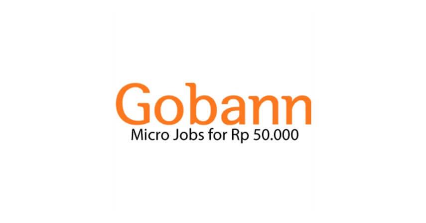 Gobann - 10 Situs Cari Kerja Sampingan Gratis Aman dan Mudah Digunakan