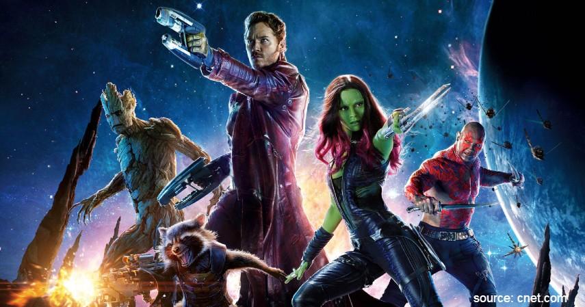 Guardians of The Galaxy 2014 - 7 Film Superhero yang Baik Ditonton Anak