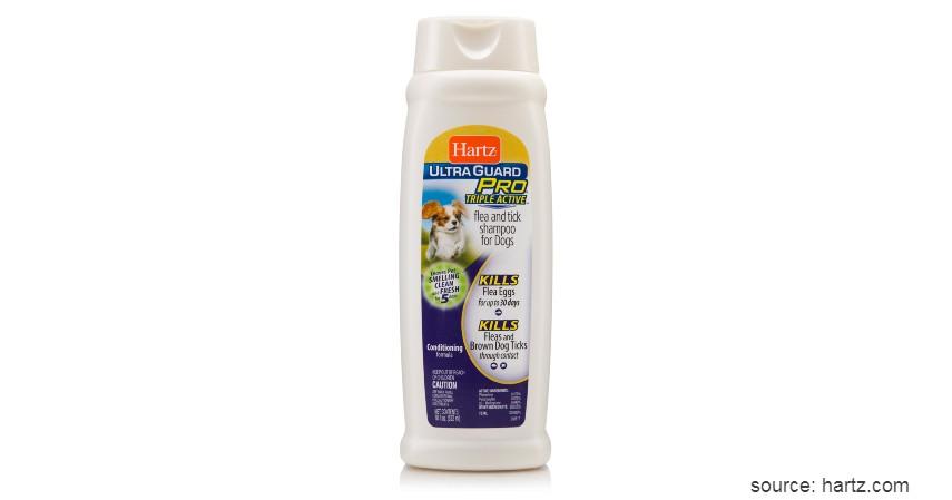 Hartz UltraGuard Flea & Tick Shampoo - 8 Rekomendasi Shampo Terbaik untuk Anjing Beserta Tips Memilihnya