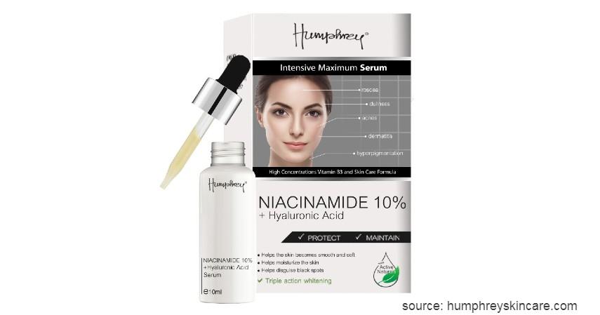 Humphrey Niacinamide 10% + Hyaluronic Acid Serum - 7 Merk Serum Wajah Terbaik