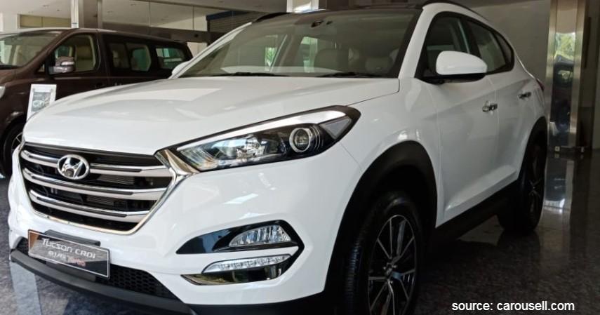 Hyundai Tucson XG - 7 Daftar Mobil Sunroof Murah di Bawah Rp500 Juta