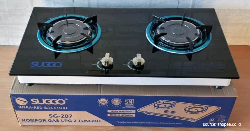 Infrared Suggo - 10 Merk Kompor Gas Terbaik Harga Murah